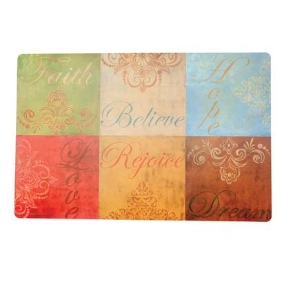 Reversible Placemats- Faith Hope