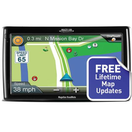 Magellan RoadMate RV9145-LM GPS System with Free Lifetime Map Updates