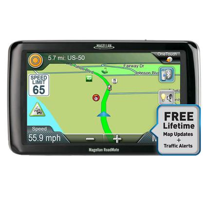 Magellan RoadMate RV9165T-LM GPS with Free Lifetime Map Updates