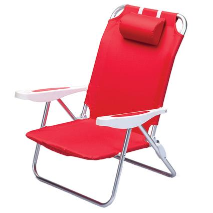 Monaco Beach Chair- Red