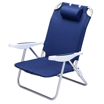 Monaco Beach Chair- Navy