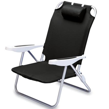 Monaco Beach Chair- Black