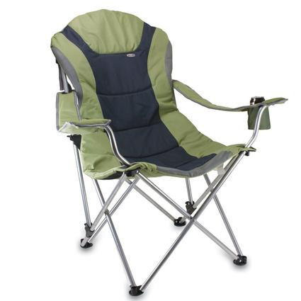 Reclining Camp Chair  Sage Green
