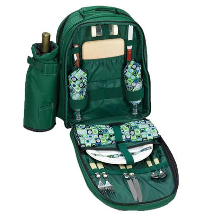 Capri Picnic Basket- Hunter Green