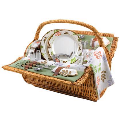Barrel Picnic Basket- Botanica