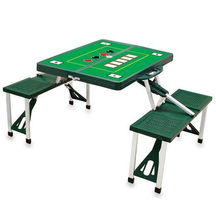 Picnic Table SPORT- Hunter Green w/Poker