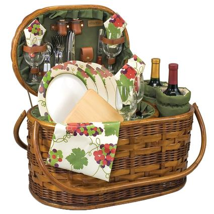 Merlot Picnic Basket