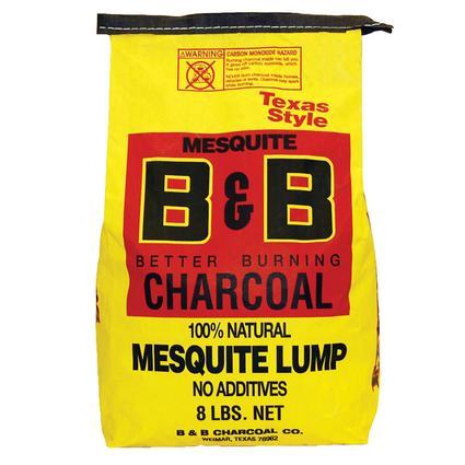 8lb Mesquite Lump Charcoal