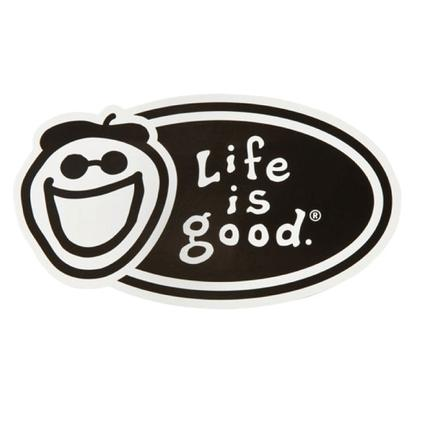 Sticker - Black Oval, 4 1/2