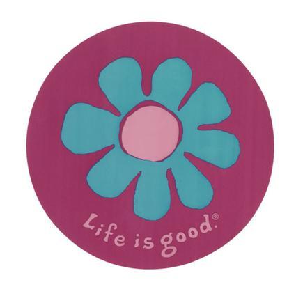 Circle Daisy Sticker