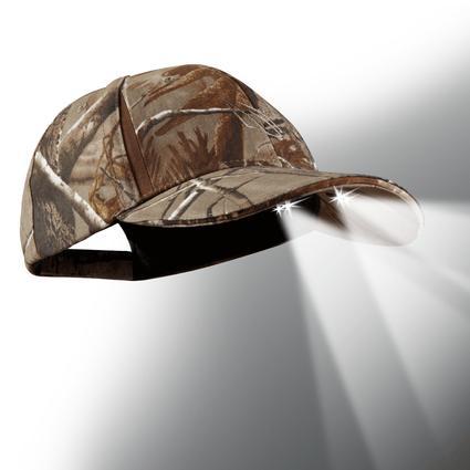 4 LED Baseball Cap – Mossy Oak