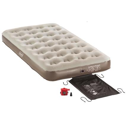 Single High QuickBed Air Bed 4D Battery Pump Combo - Twin