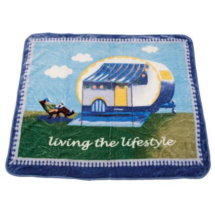 Whimsical Camper Throw
