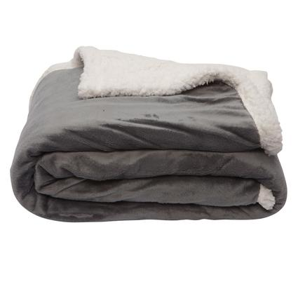 Sherpa Throws - Gray