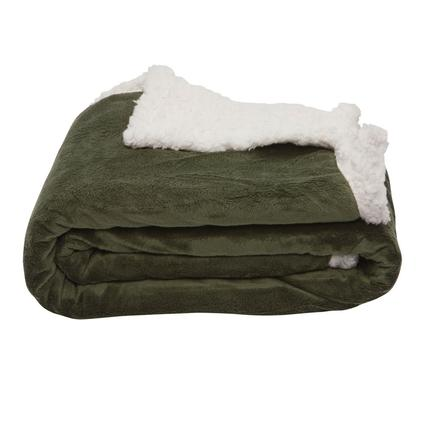 Sherpa Throws - Green