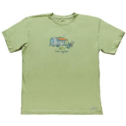 Life is good Jake Airstream/Lemonade, Sprout Green - Large