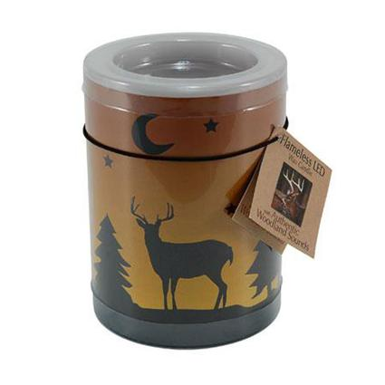 Flameless Deer Candle with Sound