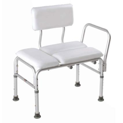 Deluxe Vinyl Padded Transfer Bench