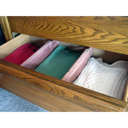 Cedar Mega Dresser Drawer Dividers - Set of 4