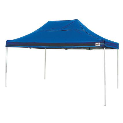 10X15 Pro Series Straight Leg Canopy - Blue
