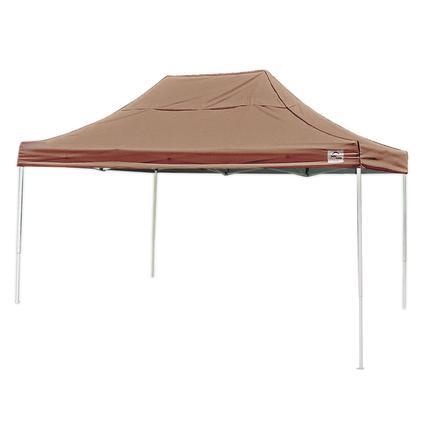 10X15 Pro Series Straight Leg Canopy - Desert Bronze