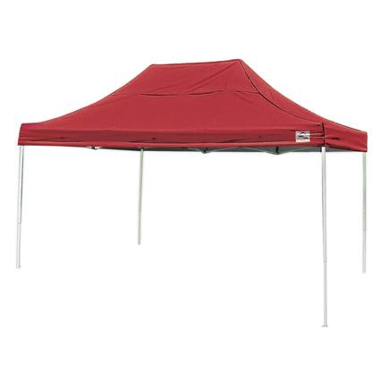 10X15 Pro Series Straight Leg Canopy - Red