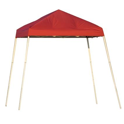 8X8 Sports Series Slant Leg Canopy - Red