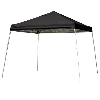 12X12 Sports Series Slant Leg Canopy - Black
