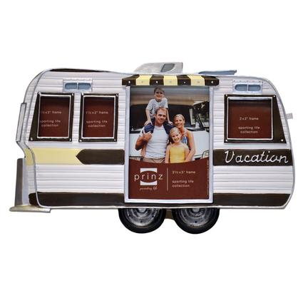 Vacation Travel Trailer Picture Frame