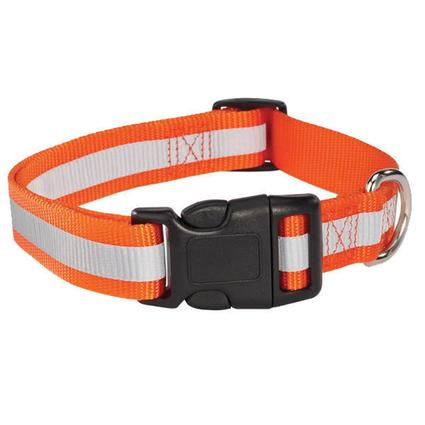Reflective Dog Collar - Fits Necks 18