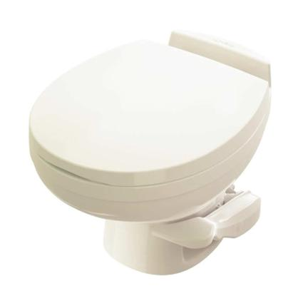 Aqua-Magic Residence Low Profile Toilet with Water Saver Spray - Bone