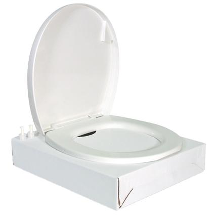 Residence Toilet Seat Cover Kit - Bone