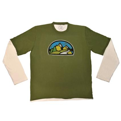 2-for-1 Tee, Olive - XX Large