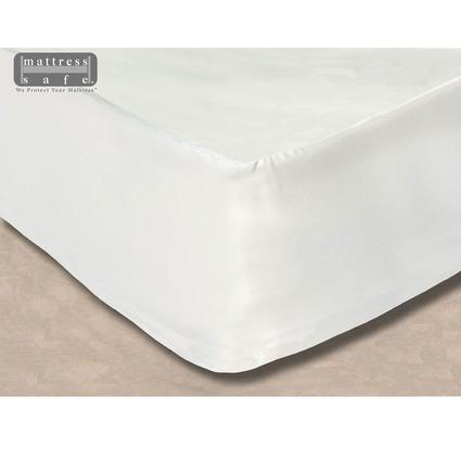 The Essential Camper's Sheet - Mattress Protector and Fitted Sheet All-in-One, U-Shaped Dinette/Dinette XL – White