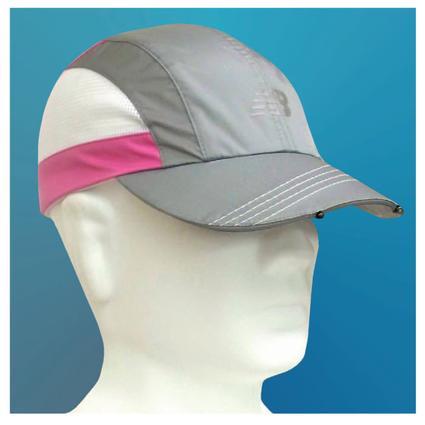 Tri-Viz Running Cap - Pink