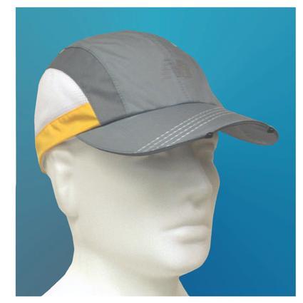 Tri-Viz Running Cap - Yellow
