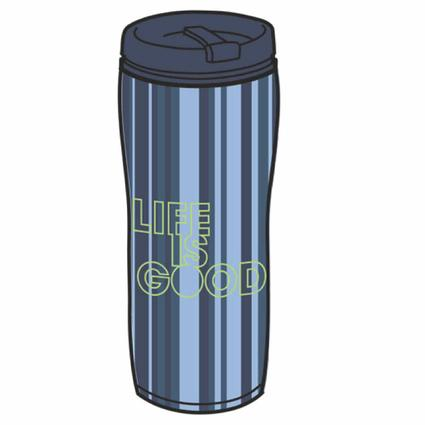 Acrylic Life is Good Travel Mug