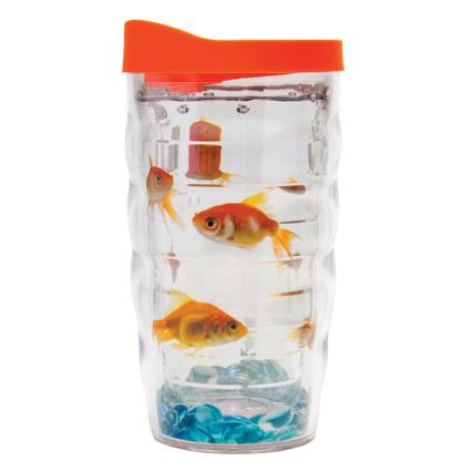 Tervis 10 oz. Kids Wavy Tumbler - Gold Fish