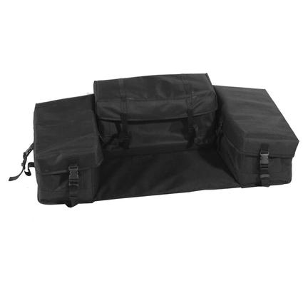 Rear Seat Bag - Black
