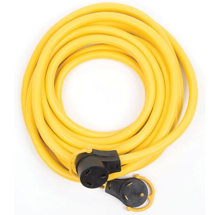 Arcon 25' Generator Power Cord with Handle, 30-Amp