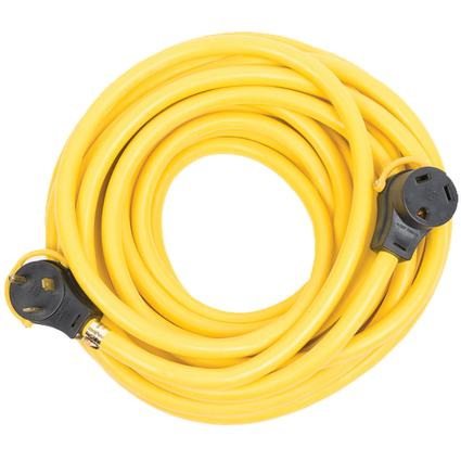 Arcon 50' Generator Power Cord with Handle – 30 Amp