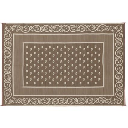 Faulkner Vineyard 9' x 12' Beige Multi-Purpose Mat