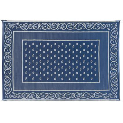 Faulkner Vineyard 6' x 9' Blue Multi-Purpose Mat