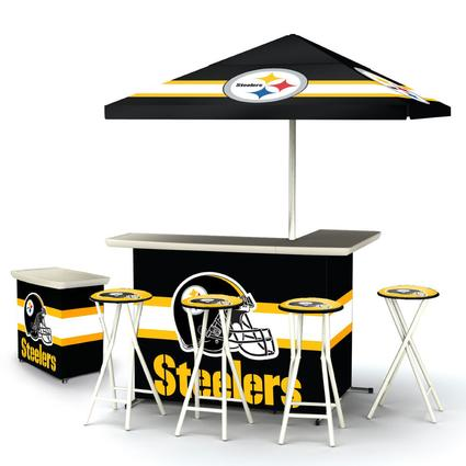 Deluxe NFL Bar - Pittsburgh Steelers