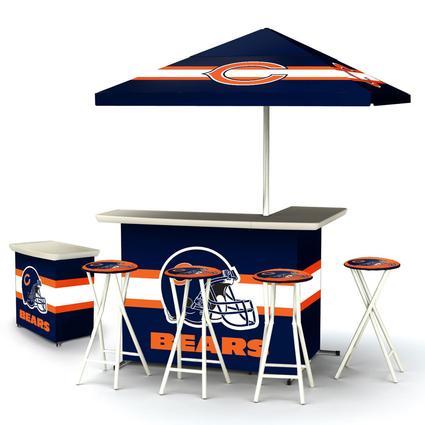 Deluxe NFL Bar - Chicago Bears