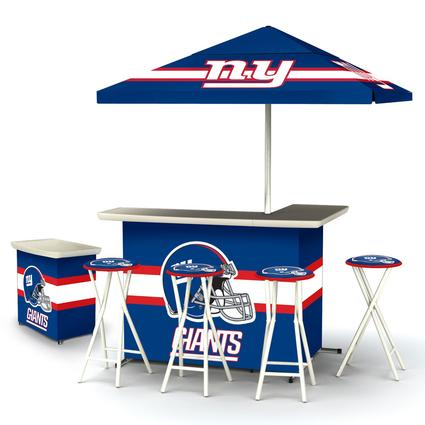 Deluxe NFL Bar - NY Giants