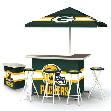 Deluxe NFL Bar - Green Bay Packers