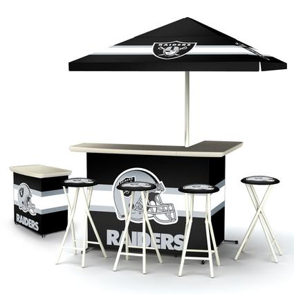Deluxe NFL Bar - Oakland Raiders