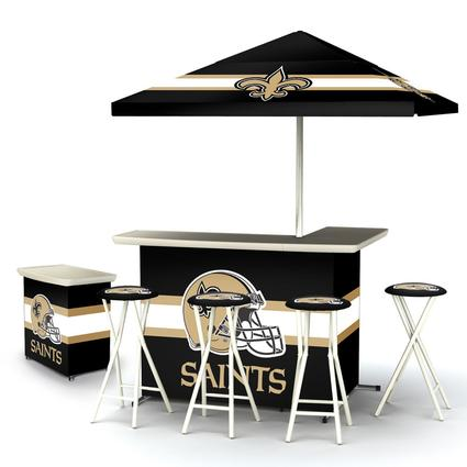 Deluxe NFL Bar - New Orleans Saints