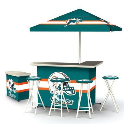 Deluxe NFL Bar - Miami Dolphins
